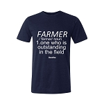 Farmer Definition by DewEze Unisex Tee