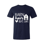 Barn Hair Don't Care by DewEze Unisex Tee